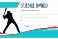Baseball Award Certificate Template Word Free 6 Baseball pertaining to Baseball Achievement Certificates