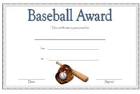 Baseball Certificate Template Free 14 Award Designs In with Donation Certificate Template Free 14 Awards