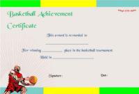 Basketball Certificates Free pertaining to Basketball Mvp Certificate Template