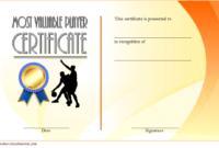 Basketball Mvp Certificate Template Free 1  Op Templates with Basketball Achievement Certificate Templates