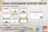 Basketball Participation Certificate Template  10 inside Awesome Travel Certificates 10 Template Designs 2019 Free