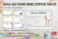 Best Boyfriend Certificate  10 Romance Designs with Printable Baby Shower Winner Certificates