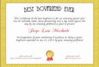 Best Boyfriend Certificate Template Elegant Best Boyfriend in Awesome First Haircut Certificate Printable Free 9 Designs