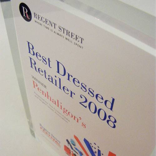Best Dressed Acrylic Award  Creative Awards within Best Dressed Certificate