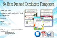 Best Dressed Certificate Template 9 Great Designs Free in Baby Shower Winner Certificates