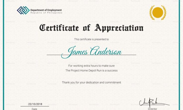 Best Employee Award Certificate Templates 4  Templates with Best Employee Award Certificate Templates
