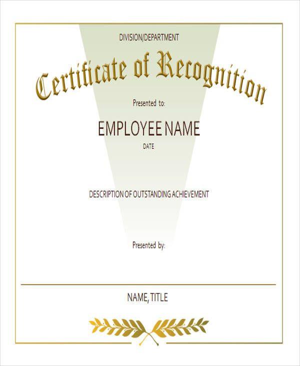 Best Employee Award Certificate Templates In 2020 regarding Writing Competition Certificate Templates