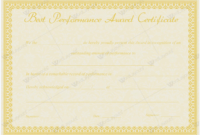 Best Performance Award Certificate 07  Word Layouts in Amazing Best Performance Certificate Template