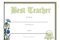 Best Teacher Certificate Template Download Printable Pdf within Best Classroom Certificates Templates