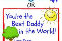 Best Uncle Father'S Day Certificate Free Print Award with Awesome Best Dad Certificate Template