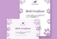 Birth Certificate Template  38 Word Pdf Psd Ai for Cute Birth Certificate Template