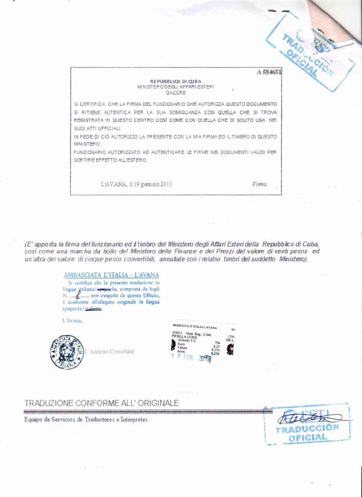 Birth Certificate Translation Template Luxury 25 Of Cuban intended for Birth Certificate Translation Template