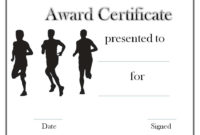 Black And White Sports Award  Certificate Templates pertaining to Free Physical Fitness Certificate Template 7 Ideas