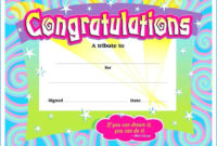 Blank Award Certificate For Kids  Para Sys For in Science Achievement Certificate Template Ideas