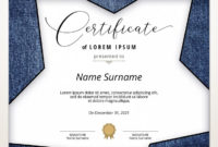 Blank Certificate Template Denim Background Printable with regard to Update Certificates That Use Certificate Templates