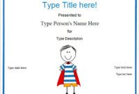 Blank Certificates  Hero Award Certificate Template in Printable Super Reader Certificate Template