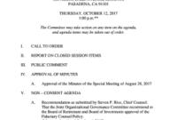 Board Of Directors Meeting Notice Template  Fill Print for Awesome Board Of Directors Meeting Agenda Template