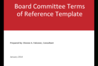 Board Or Committee Meeting Evaluation Form  The Ontario regarding Collaboration Meeting Agenda Template