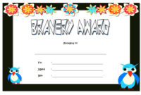 Bravery Certificate Templates  10 Best Template Ideas intended for Winner Certificate Template Free 12 Designs