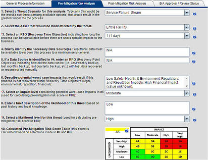 Business Continuity Plan Templates  Technical Response within Cost Effectiveness Analysis Template