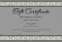 Business Gift Certificate Template 50 Editable pertaining to Best Tattoo Gift Certificate Template Coolest Designs