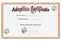 Cat Adoption Certificate Template  9 Best Ideas regarding Awesome Stuffed Animal Birth Certificate Template 7 Ideas