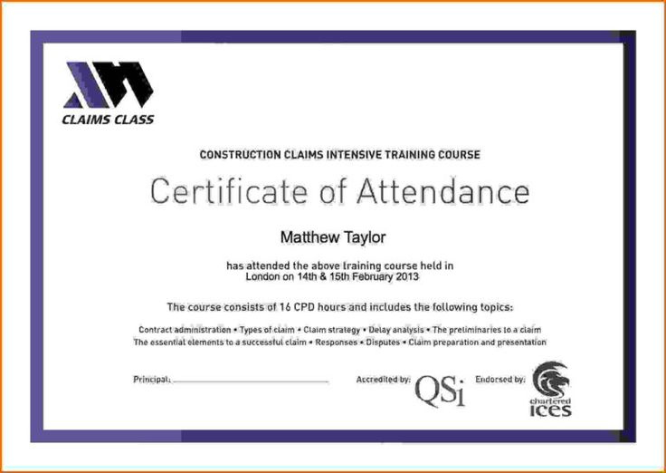 Certificate Attendance Templatec Certification Letter throughout Certificate Of Attendance Conference Template
