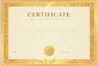 Certificate Diploma Of Completion Template Background inside Certificate Scroll Template