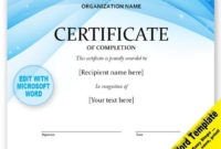 Certificate Editable Word Template Printable Instant with Printable Free Art Award Certificate Templates Editable