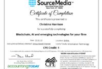 Certificate Examples  Simplecert Pertaining To Ceu for Printable Ceu Certificate Template