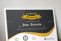 Certificate  Free Portfolio Template Vertical Landscape with Landscape Certificate Templates