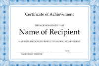 Certificate Images  Certificates Templates Free for Netball Achievement Certificate Editable Templates