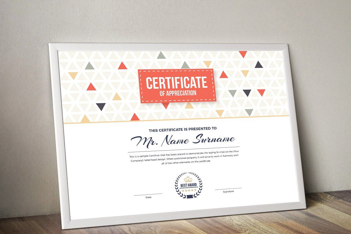 Certificate In 2020  Certificate Templates Gift with Small Certificate Template