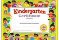 Certificate Kindergarten  Certificates Templates Free regarding 10 Kindergarten Diploma Certificate Templates Free