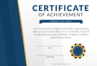 Certificate Of Achievement Template  Vector Download with 9 Math Achievement Certificate Template Ideas
