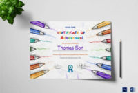 Certificate Of Achievement Templates  11 Word Pdf Psd with Printable Drawing Competition Certificate Templates