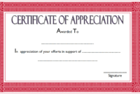 Certificate Of Appreciation Template Word 10 Best Ideas in Quality Certificate Of Appreciation Template Free Printable