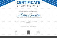 Certificate Of Athletic Award Design Template In Psd Word regarding Printable Template For Certificate Of Award