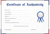 Certificate Of Authenticity Template regarding Awesome Drawing Competition Certificate Template 7 Designs