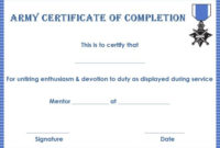Certificate Of Completion 22 Templates In Word Format in Printable Anger Management Certificate Template Free