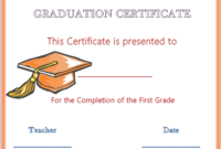 Certificate Of Completion Graduation 813  Graduation pertaining to Graduation Gift Certificate Template Free