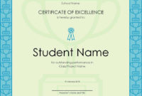 Certificate Of Excellence  Pdf Format  Edatabase pertaining to Amazing Certificate Of Excellence Template Free Download