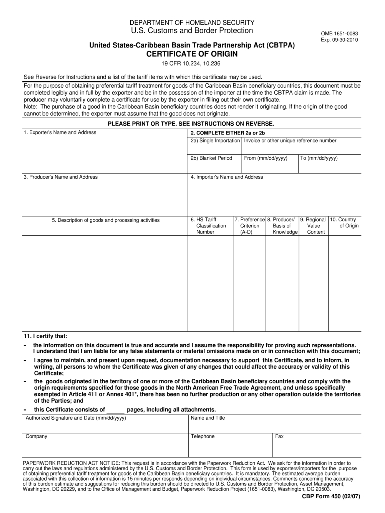 Certificate Of Origin Template  Fill Out And Sign within Certificate Of Origin Template Ideas Free