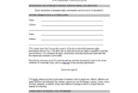 Certificate Of Ownership Template 2  Best Templates Ideas inside Electrical Isolation Certificate Template