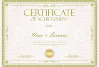 Certificate Or Diploma Retro Vintage Template  Download for Art Certificate Template Free