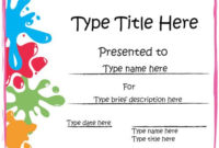 Certificate Printable  Certificates Templates Free with Printable Math Certificate Template 7 Excellence Award
