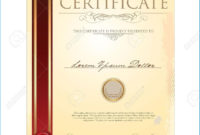 Certificate Scroll Template 8990 For Scroll Certificate regarding Best Certificate Scroll Template