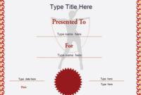 Certificate Street Free Award Certificate Templates  No with regard to Gymnastics Certificate Template