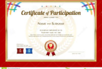 Certificate Template In Basketball Sport Theme With Sport with regard to Basketball Camp Certificate Template