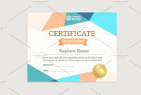 Certificate Template Vector  Certificate Templates for Printable High Resolution Certificate Template
